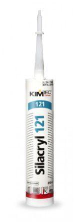 Герметики Герметик акриловый, прозрачный, 310мл KIM TEC 121 Крепика дом крепежных материалов